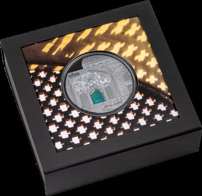 Palau - 2020 - 25 Dollars - Tiffany Art Safavid 5oz black proof