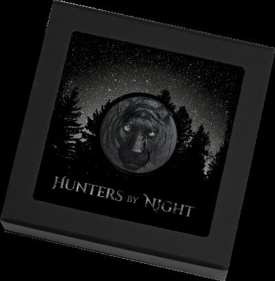 Palau - 2020 - 10 Dollars - Black Panther – Hunters by Night