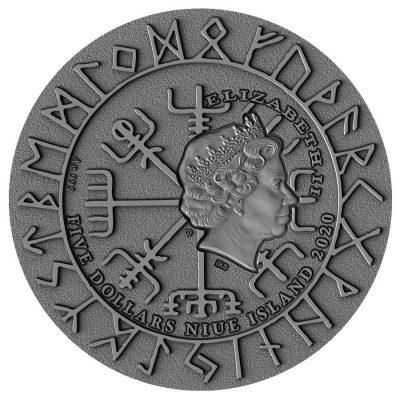 Niue - 2020 - 5 Dollars - Vikings Eric Bloodaxe