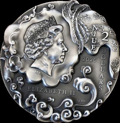 Niue - 2020 - 5 Dollars - Sun Wukong