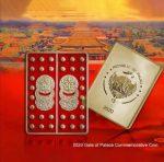 Palau - 2020 - 1 Dollar - Gate of Palace