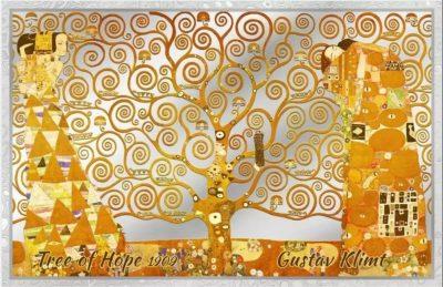 Cook Islands - 2019 - 5 Dollars - Gustav Klimt Tree of Hope silver note
