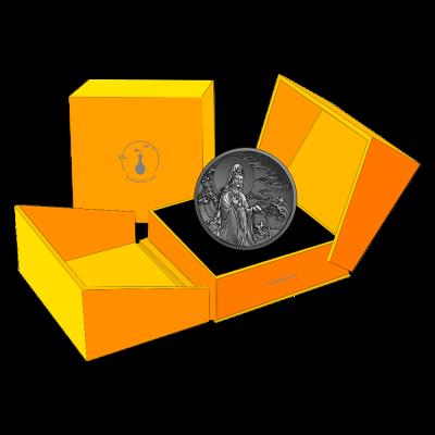 Samoa - 2020 - 5 Dollars - God Avalokitesvara (Silver)