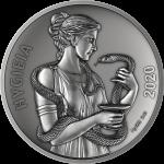 Samoa - 2020 - 5 Dollars - God Hygieia (Silver)