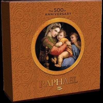 Ghana - 2020 - 10 Cedis - 500th Anniversary Raphael