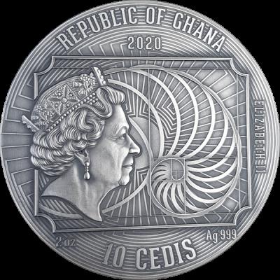 Ghana - 2020 - 10 Cedis - Gustav Klimt World Greatest Artists