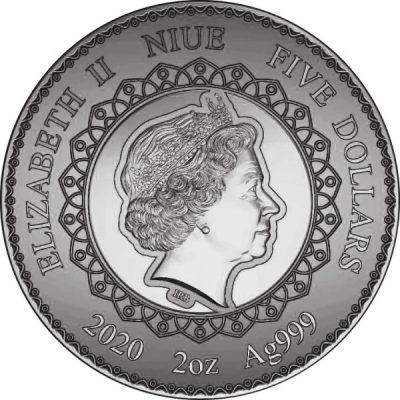 Niue - 2020 - 5 Dollars - Owl Mandala Collection