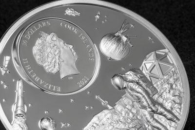 Cook Islands - 2021 - 10 Dollars - Exploration / Time Flies Series