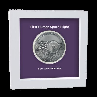 Cameroon - 2021 - 3000 Francs CFA - Vostok 1 Yuri Gagarin 60th Anniversary