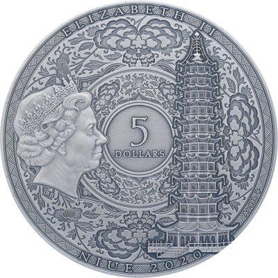Niue - 2020- 5 Dollars - Zheng He / Famous Explorers