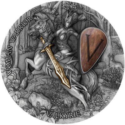 Niue - 2020 - 5 Dollars - Valkyrie / Women Warriors