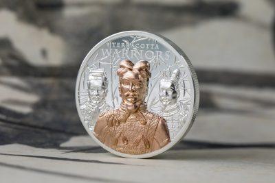 Cook Islands - 2021 - 20 Dollars - Terracotta Warriors Silver 3 oz