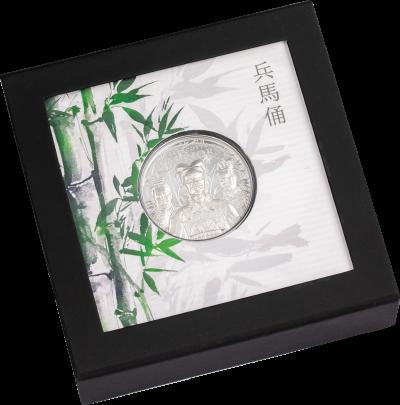 Cook Islands - 2021 - 5 Dollars - Terracotta Warriors Silver 1 oz