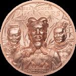 Cook Islands - 2021 - 1 Dollars - Terracotta Warriors Silver Coppper
