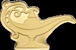 Palau - 2021 - 1 Dollars - Golden Magical Lamp –/1001 Nights