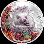 Mongolia - 2021 - 500 Togrog - Woodland Spirits Hedgehog