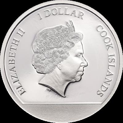 Cook Islands - 2021 - 1 Dollar - Love Globe