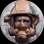 Cook Islands - 2021 - 20 Dollars - Firefighter – Real Heroes
