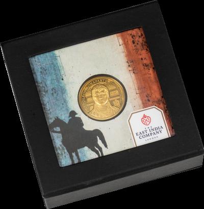 Saint Helena - 2021 - 5 Pounds - Napoleon 200th Anniversary (1/4 oz gold)