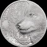 Mongolia - 2021 - 25000 Togrog - Mystic Wolf Platinum 1oz