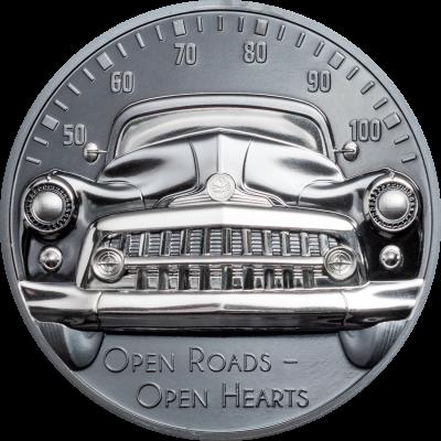 Cook Islands - 2021 - 10 Dollars - Classic Car – Open Roads