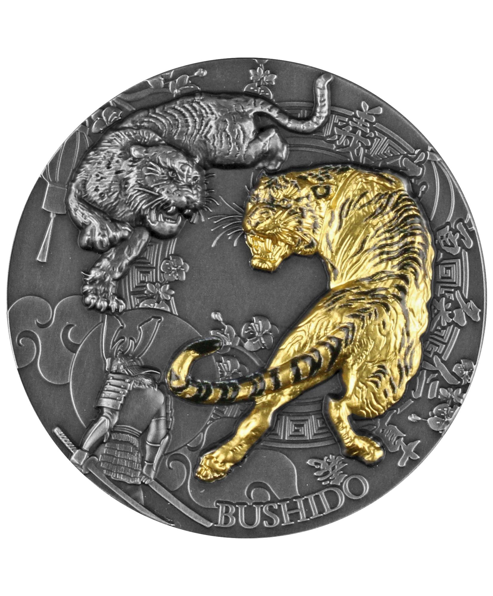 Niue - 2021 - 5 Dollars - Bushido