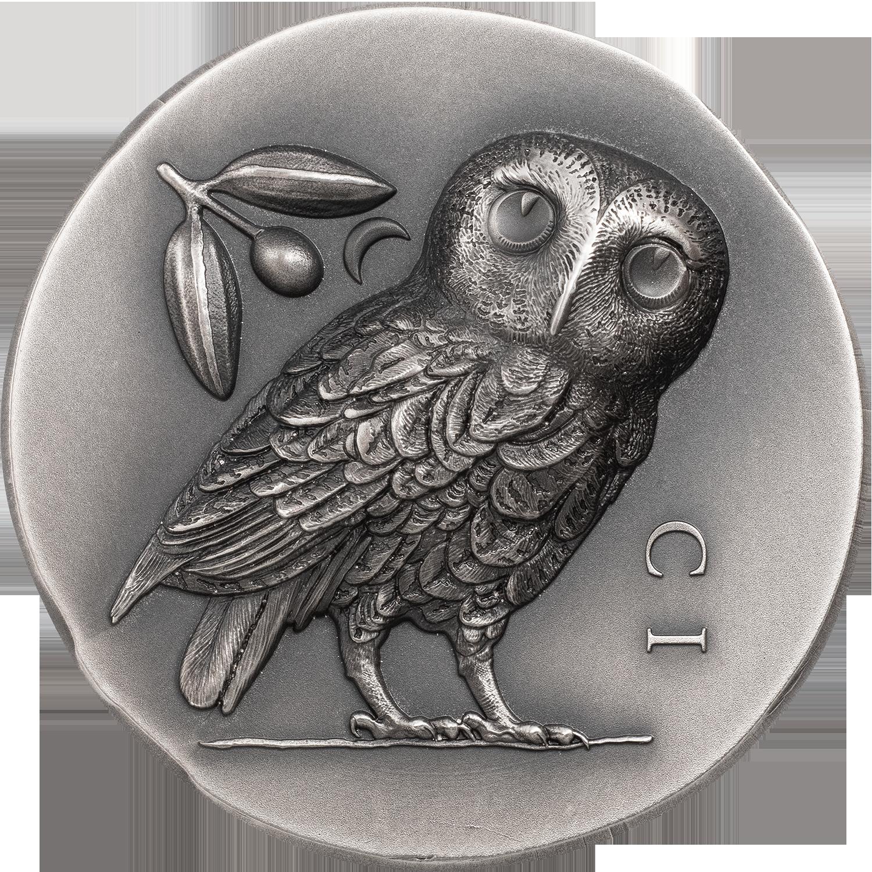 Cook Islands - 2021 - 5 Dollars - Athena