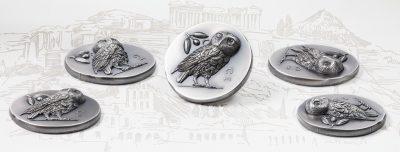 Cook Islands - 2021 - 5 Dollars - Athena's Owl