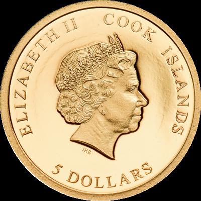 Cook Islands - 2021 - 5 Dollars - Mr. Bean - My Dearest Teddy