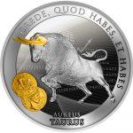 Niue - 2021 - 1 Dollar - Aureus Taurus