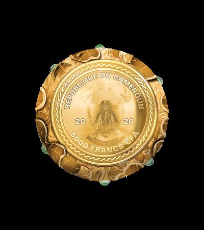 Republic of Cameroon - 2020 - 5000 CFA Francs - Clover Leaf Egg