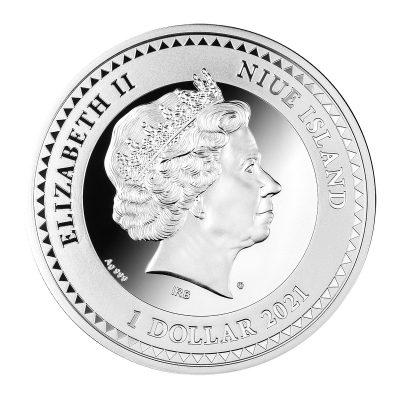 Niue - 2021 - 1 Dollar - Cherub
