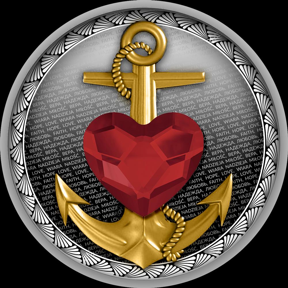 Republic of Cameroon - 2021 - 500 Francs - Faith, Hope, Love