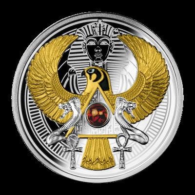 Niue – 2021 – 1 Dollar – Falcon of Tutankhamun
