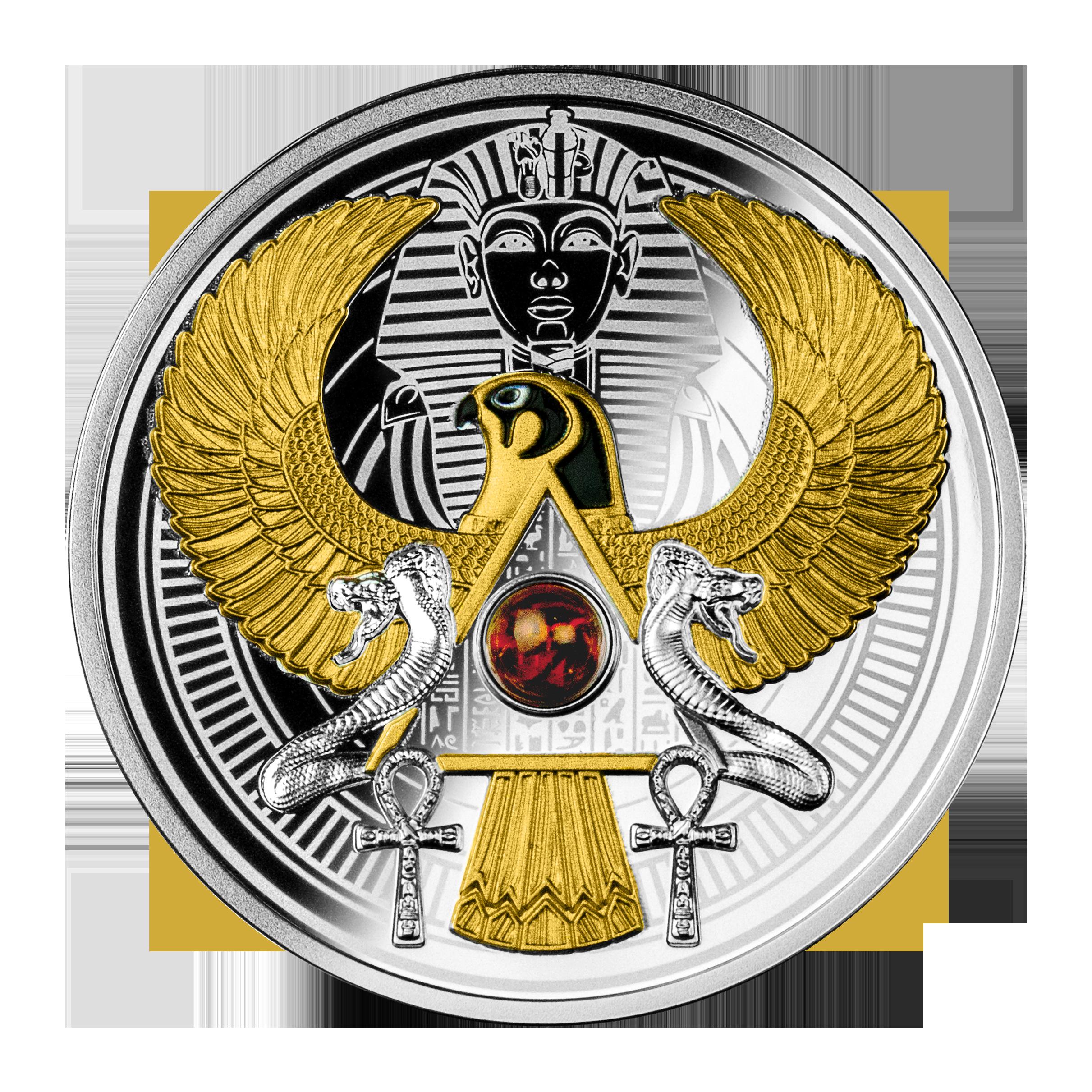 Niue - 2021 - 1 Dollar - Falcon of Tutankhamun