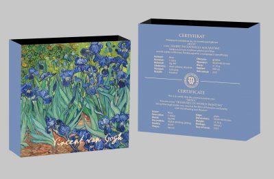 Niue - 2021 - 1 Dollar - Irises
