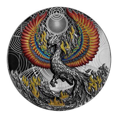 Niue - 2021 - 5 Dollars - Phoenix