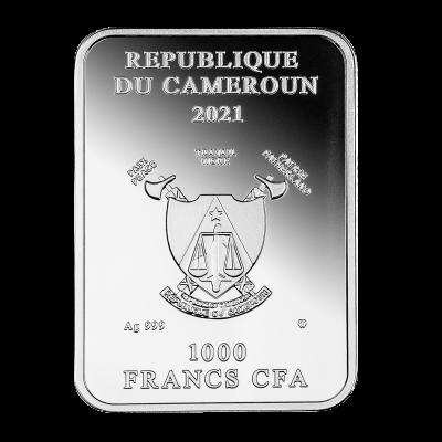 Republic of Cameroon - 2021 - 1000 CFA Francs - Ponte Vecchio