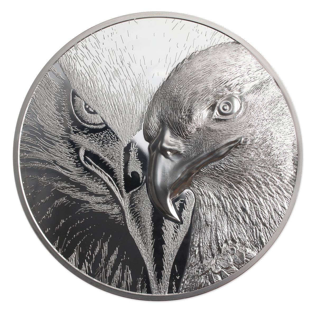 Mongolia - 2021 - 20000 Togrog - Majestic Eagle - 1 Kilo