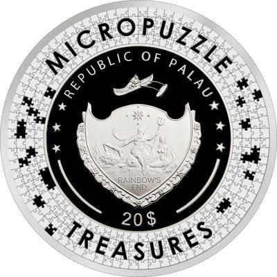 Palau - 2021 - 20 Dollars - Reverie by Mucha