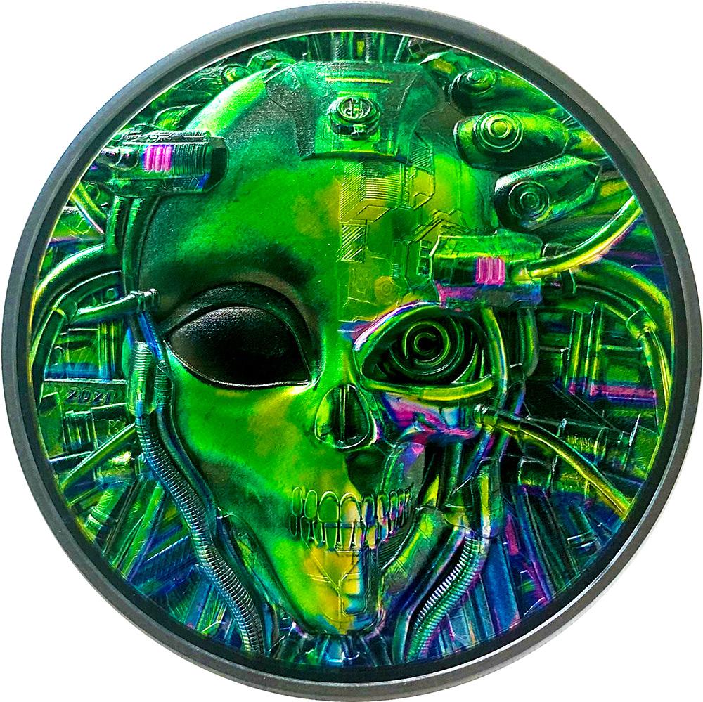 Palau - 2021 - 20 Dollars - The Alien