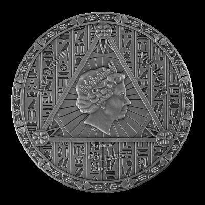 Niue - 2021 - 2 Dollars - Egyptian Calendar