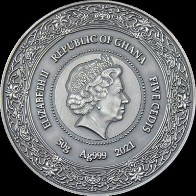 Republic of Ghana - 2021 - 5 Cebis - IX Chel