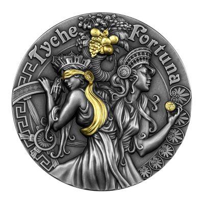 Niue - 2021 - 5 Dollars - Fortuna and Tyche