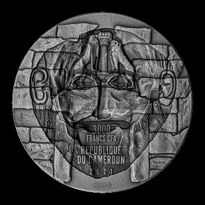 Republic of Cameroon - 2021 - 3000 CFA Francs - Mask of Agamemnon