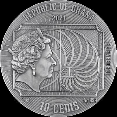Republic of Ghana - 2021 - 10 Cedis - Albrecht Dürer