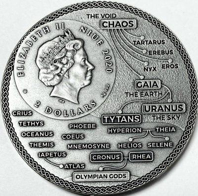 Niue - 2020 - 2 Dollars - Atlas