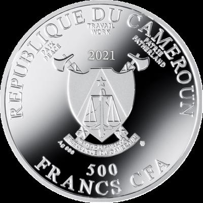 Republic of Cameroon - 2021 - 500 CFA Francs - The Dancer