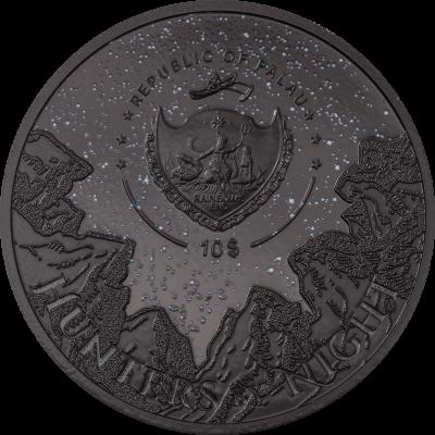 Palau - 2021 - 10 Dollars - Eagle Owl – Hunters by Night
