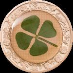 Palau - 2022 - 5 Dollars - Ounce of Luck 2022 Four Leaf Clover